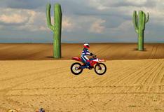 Трасса для соревнований по мотокроссу