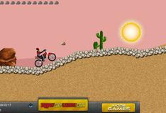 Игра Езда на мотоцикле по пустыне