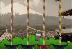 Игра Игра Нинзя Чиби и веревки
