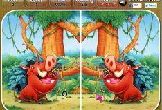 Игра Игра Король лев: Найти отличия