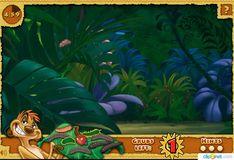 Игра Король лев: Охотник Тимон в джунглях