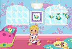 Игра Дизайн детской комнаты