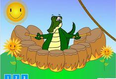 Игра Игра Крокодильчик - музыкант