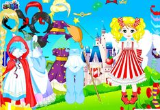 Игра Игра Лалалупси - одеваем куклу