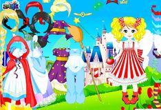 Игра Лалалупси - одеваем куклу