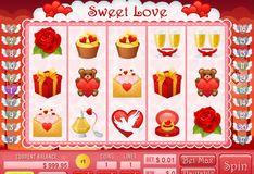 Игра Игровые автоматы Сладкая любовь