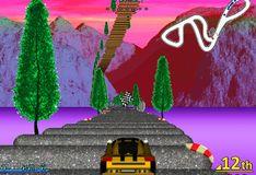 Игра Игра Пляжные машинки- 2: фиолетовая гонка
