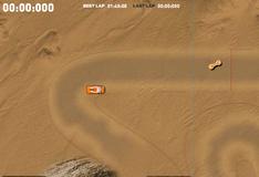 Дрифт на песчаной местности