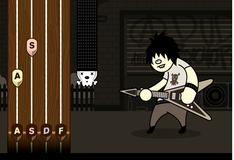Игра Гитара рок исполнителя