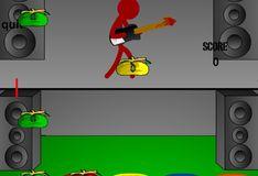 Игра На гитаре в Хэллоуин