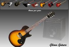 Игра Виртуальная гитара Гибсон