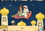 Играть бесплатно в Игра Поцелуи с Алладином