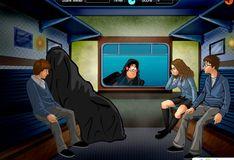 Игра Игра Поцелуи с героями Гарри Поттера