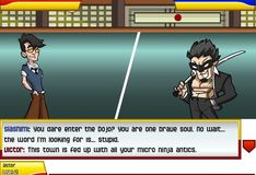 Игра Игра РПГ ниндзя против мафии