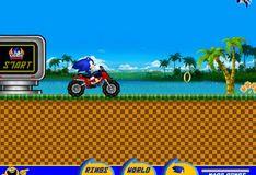 Игра Соник на мотоцикле ATV