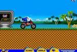 Игра Игра Соник на мотоцикле ATV