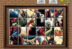 Герои комиксов на одном фото