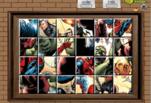 Игра Герои комиксов на одном фото