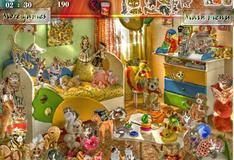 Игра Комната с кошками