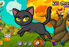 Игра Идеальный образ для кота на Хэллоуин