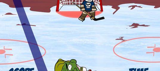 Игра Хокей головой зомби