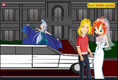 Игра Игра Винкс клуб: Блум и Скай - Поцелуи