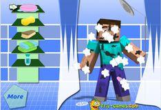 Игра Казуальная игра Майнкрафт: Грязный Стив