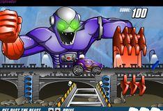 Игра Игра Хот Вилс: Опасайся удара робота