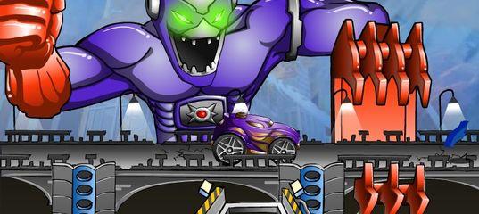 Игра Хот Вилс: Опасайся удара робота