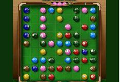 Игра Игра Бильярд: Разноцветные линии
