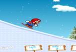 Играть бесплатно в Марио катается на лыжах