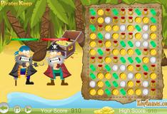 Борьба пиратов за сокровища