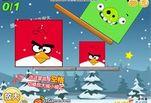 Играть бесплатно в Angry Birds Throw green pigs