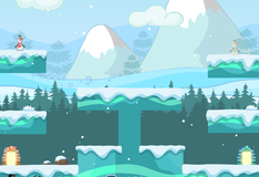 Игра Близнец снеговика Олафа