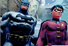 Игра Игра Бэтмен и Робин: Пазлы