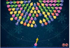 Рождественская стрельба шариками