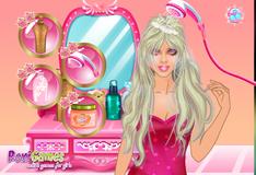 Игра Уход за волосами Барби