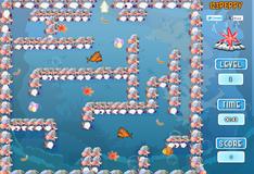 Игра Лабиринт страха для рыбки