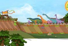Игра Игра Поезд Динозавров: Воздушное Шоу