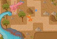 Игра Игра Поезд Динозавров: Приключения Бадди в Лабиринте