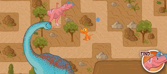 Игра Поезд Динозавров: Приключения Бадди в Лабиринте