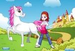 Играть бесплатно в Игра Милая девушка милый пони