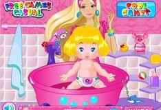 Игра Игра Барби Няня