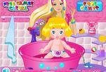 Игра Барби Няня