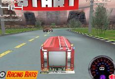 Игра Гонки на пожарных машинах