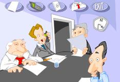 Игра Скучное офисное совещание