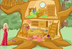 Игра Игра Дизайн домика для ПопПикси
