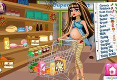 Игра Игра Беременная Клео Де Нил. Детские покупки