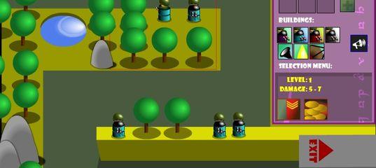 Игра Защитные башни: генералы