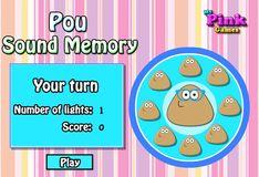 Игра Игра Поу. Звуки на память